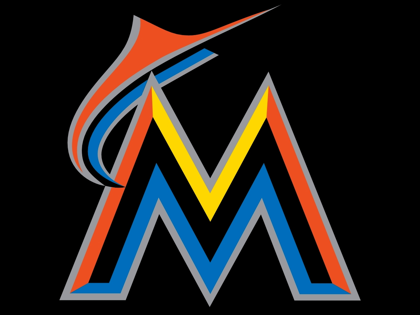 Click each preview to download the full-size imageMarlins Logo 2014
